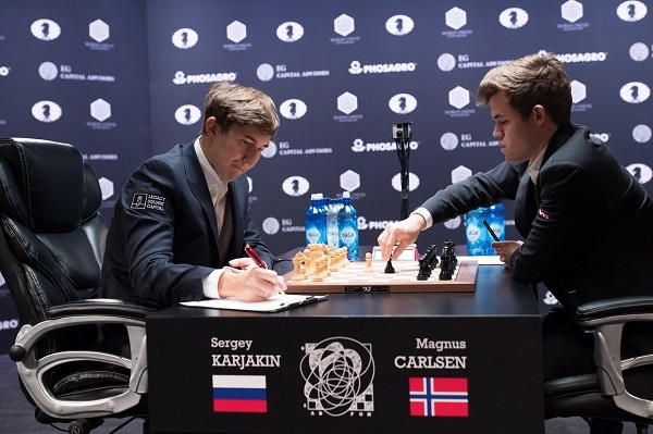 Karjakin edges closer to World Chess Championship triumph after ninth game draw