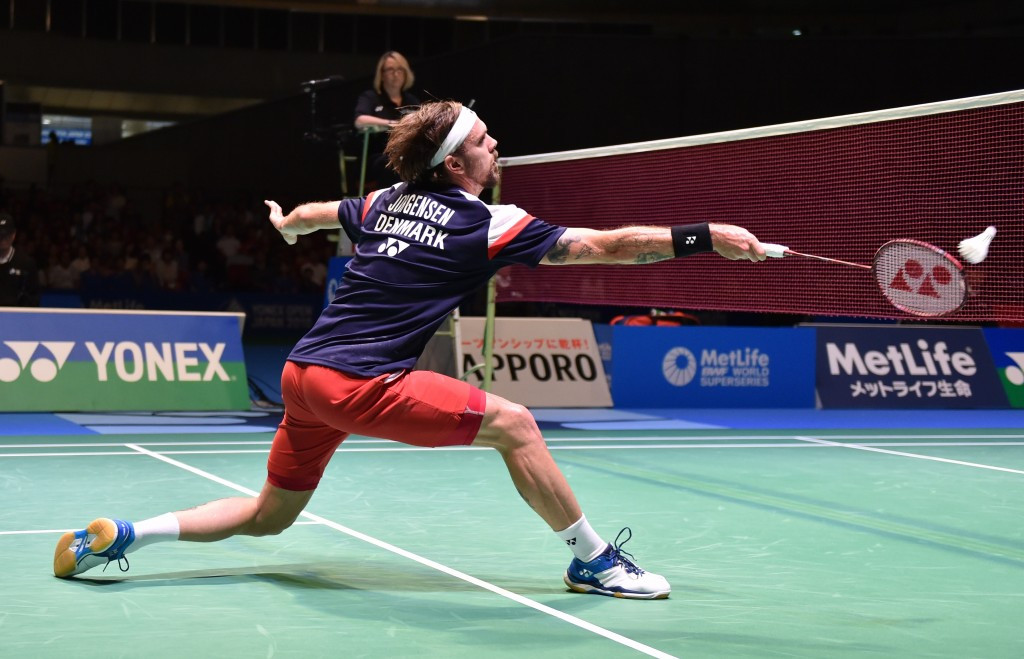 Jørgensen survives scare as Olympic medallists cruise through at BWF Hong Kong Superseries