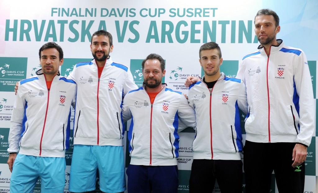 Argentina seeking to end run of Davis Cup final defeats against Croatia