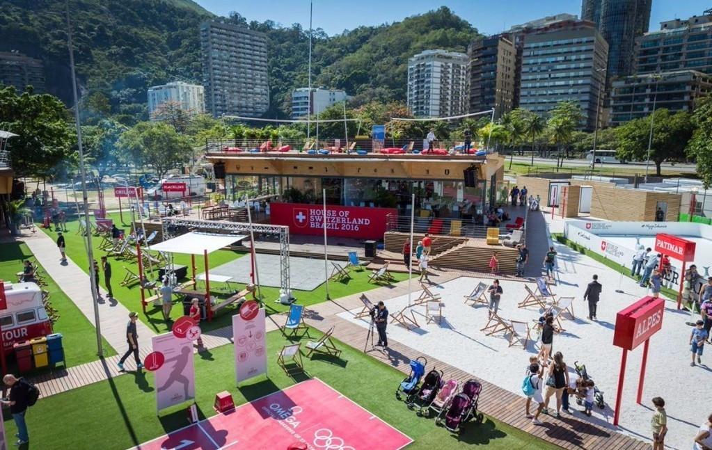 The project aims to develop the sport of baseball in Brazil ©House of Switzerland