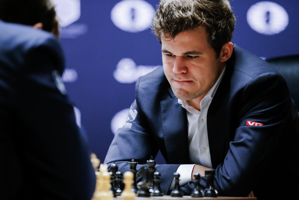 Carlsen strikes back to level World Chess Championship