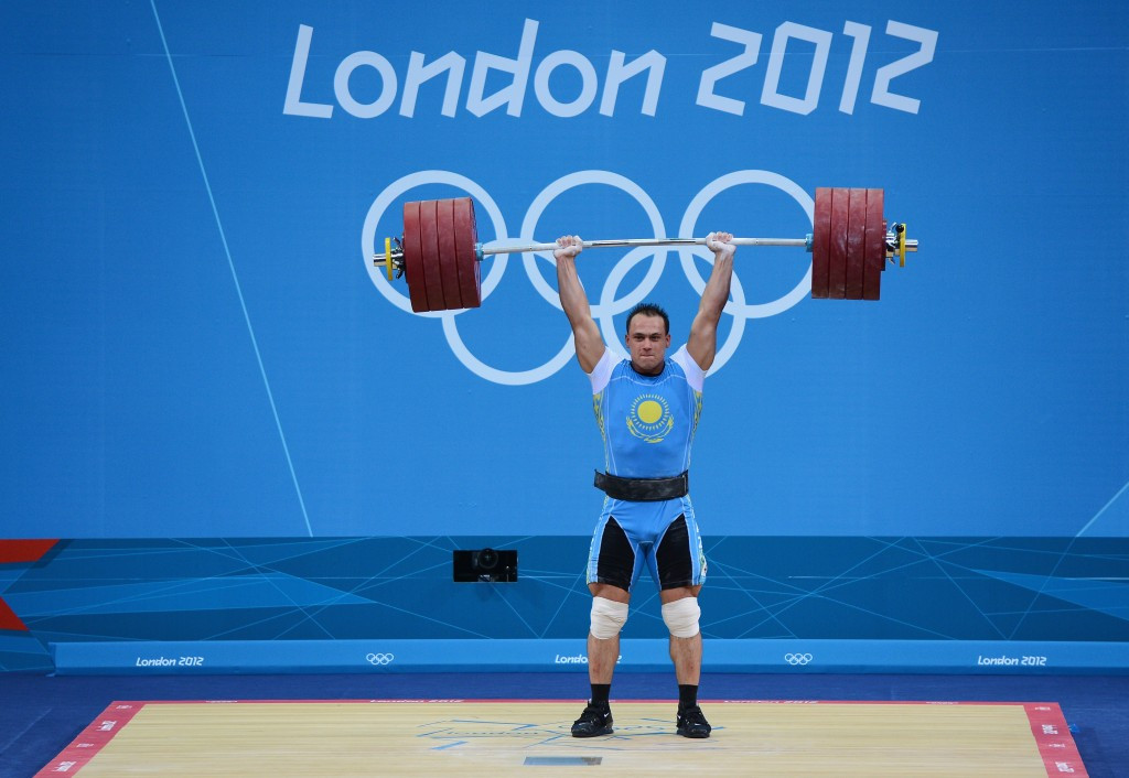Kazakhstan weightlifter Ilya Ilyin has been officially confirmed as testing positive at both Beijing 2008 and London 2012 and been stripped of his two Olympic gold medals ©Getty Images