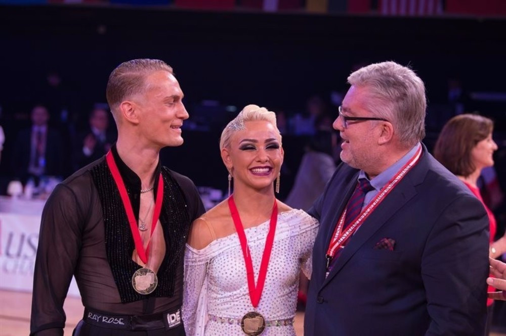 The World DanceSport Federation Grand Slam Finals are due to be held in Shanghai on December 10 and 11 ©WDSF