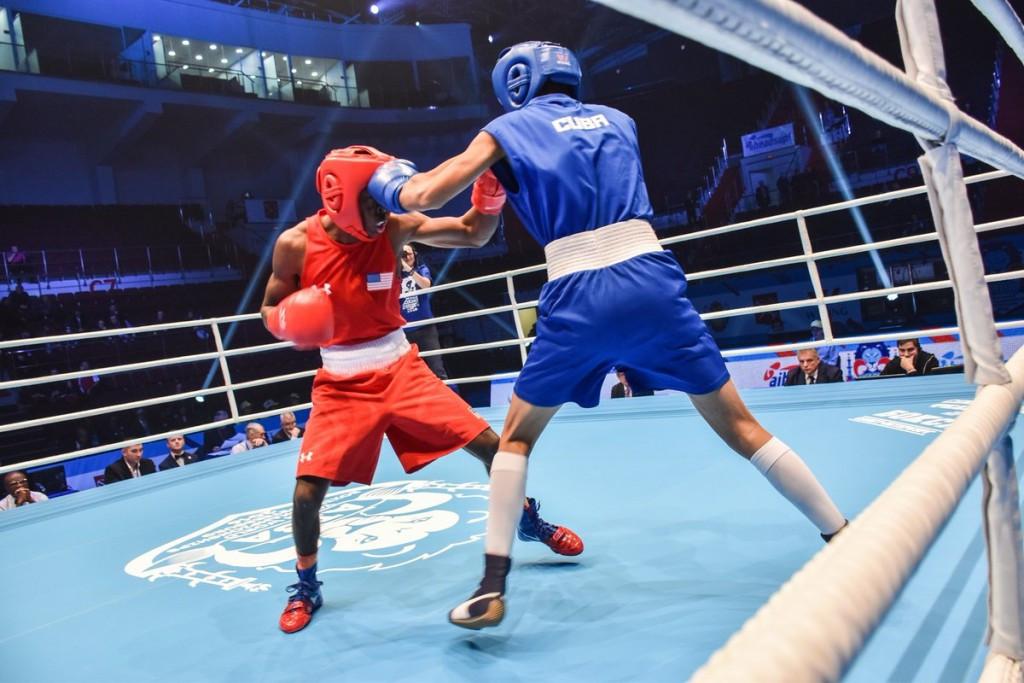 Russian pair earn AIBA Youth World Championships final spots
