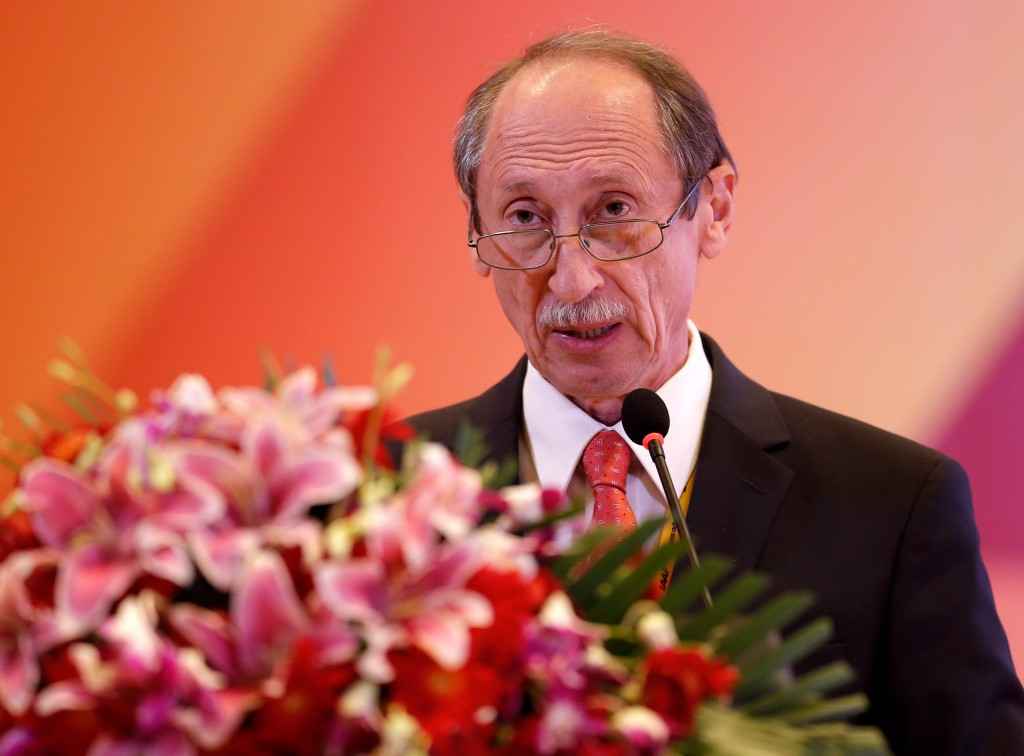 Valentin Balakhnichev, the former President of the Russian Athletics Federation, has denied knowledge of an email it is claimed he sent to the IAAF complaining about the treatment of Russian doping suspects ©Getty Images