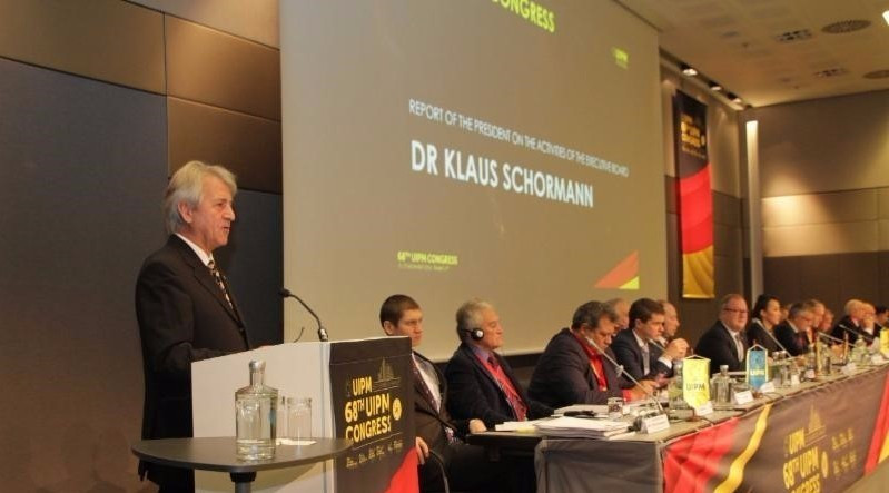 Klaus Schormann has been re-elected President of the UIPM ©UIPM