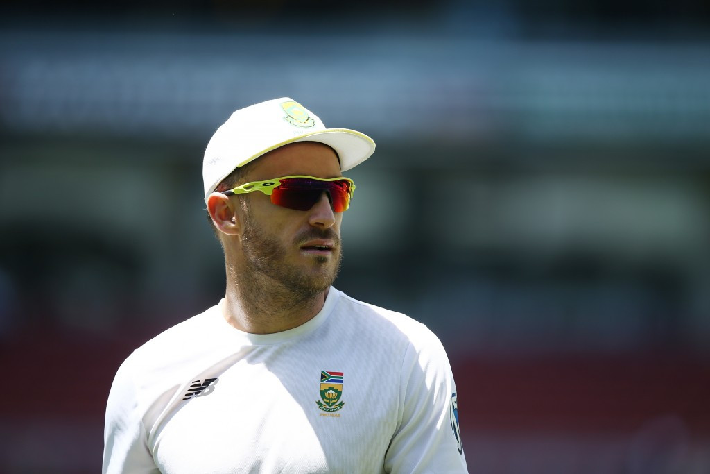 Faf du Plessis is appealing the fine he was given for ball tampering ©Getty Images