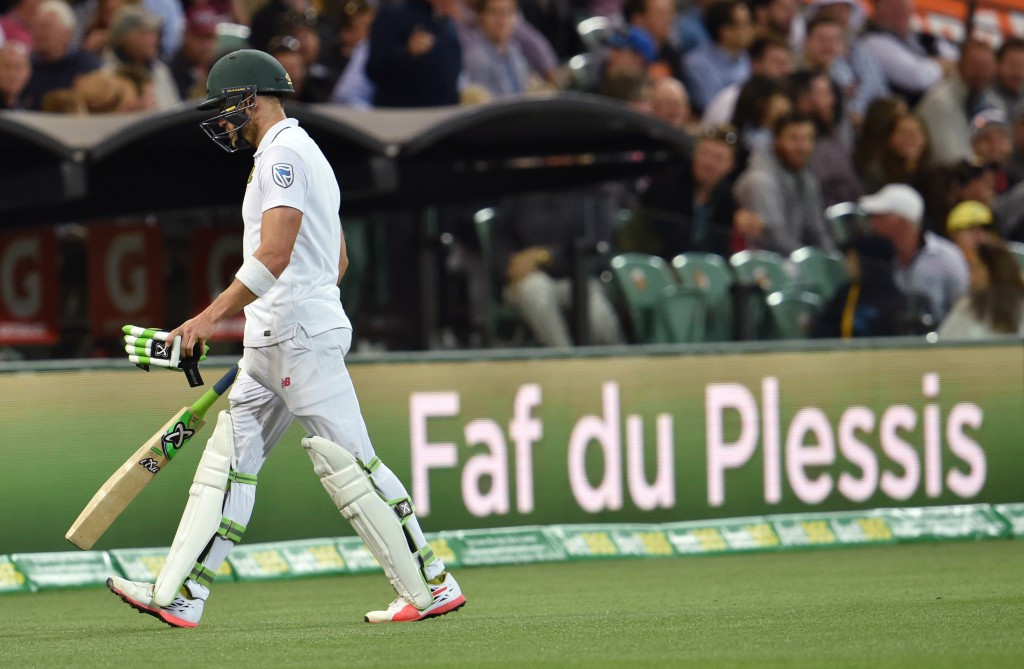 The South Africa captain has claimed he was made a scapegoat by the ICC ©Getty Images