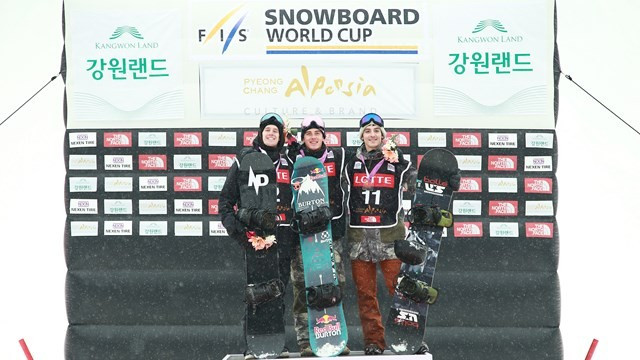 Mark McMorris won the men's title at the Pyeongchang test event ©FIS