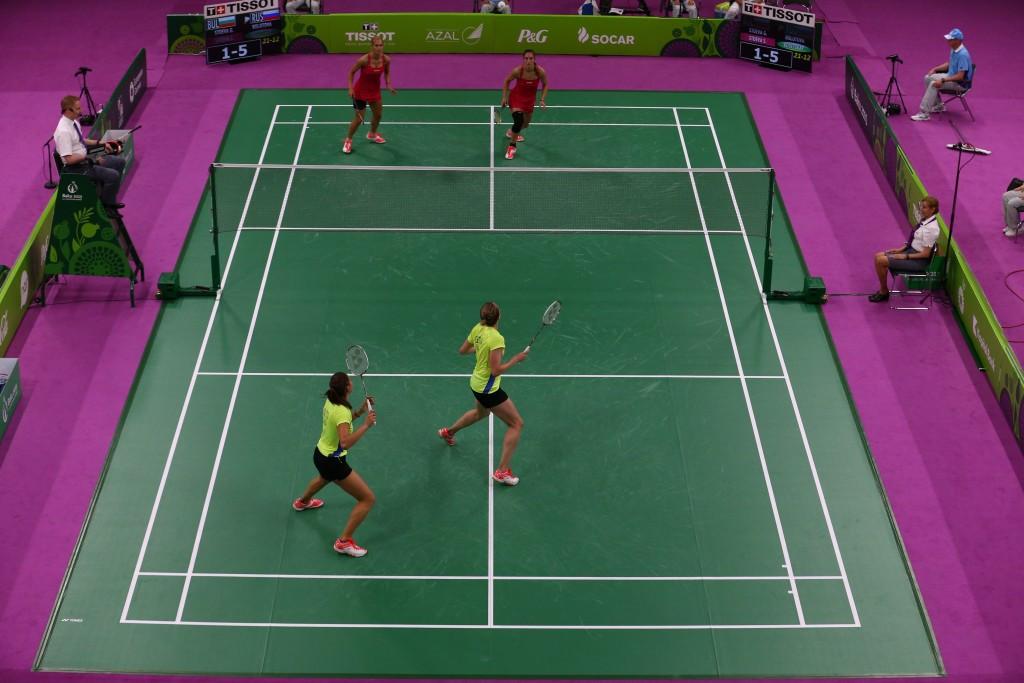Bulgaria's Stoeva sisters, Gabriela and Stefani, won the women's doubles gold