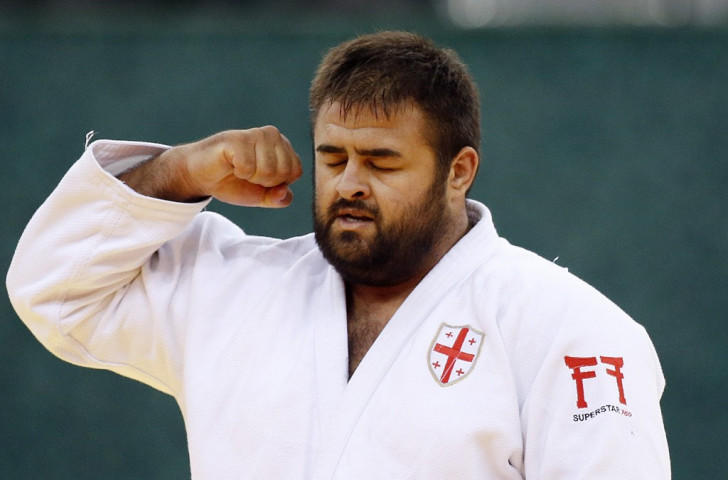 Adam Okruashvili of Georgia took a breakthrough men's heavyweight judo gold this evening ©Getty Images