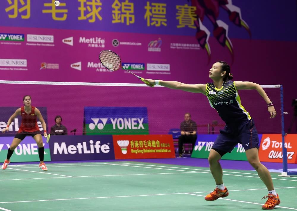 Olympic champion Marin beaten by Tai in semi-finals of BWF Hong Kong Superseries