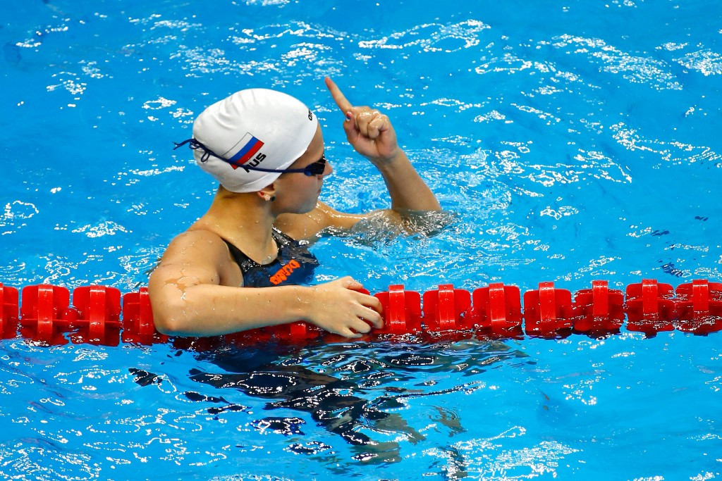 Eight-gold Russia complete Baku 2015 European Games swimming competition in style