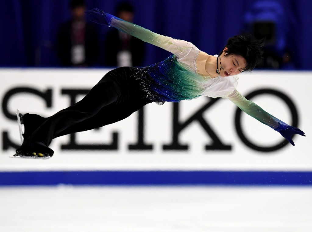 Hanyu clinches gold on home ice as Canadian duo set world record at NHK Trophy