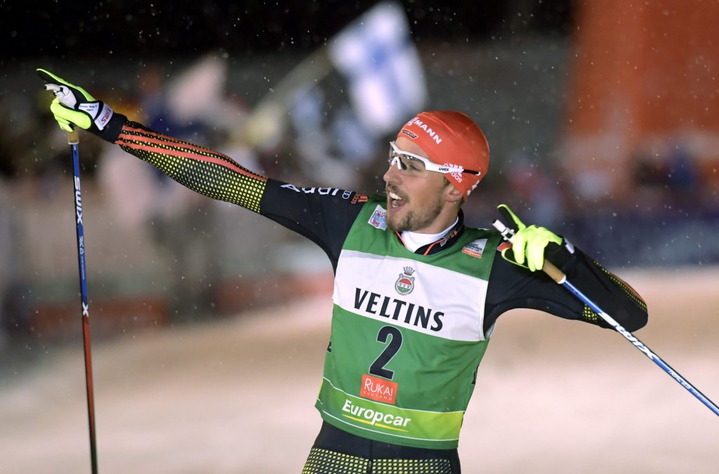 Rydzek cruises home to win opening leg of FIS Nordic Combined World Cup season
