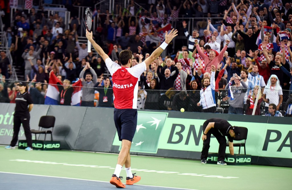Croatia take charge of Davis Cup final after doubles success