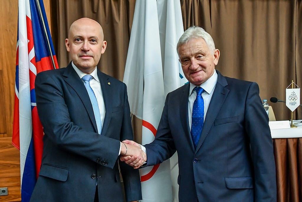 Siekel elected President of Slovak Olympic Committee