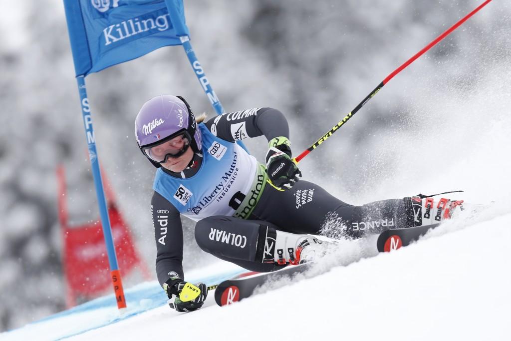 Former world champion Worley tops giant slalom podium in Killington