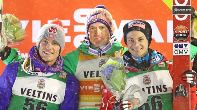 Olympic gold medallist Freund secures victory in second event at FIS Ski Jumping World Cup opener