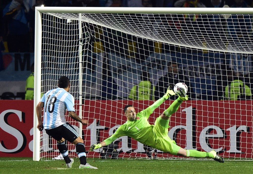 Argentina progress to Copa América semi-final on penalties after goalless draw with Colombia