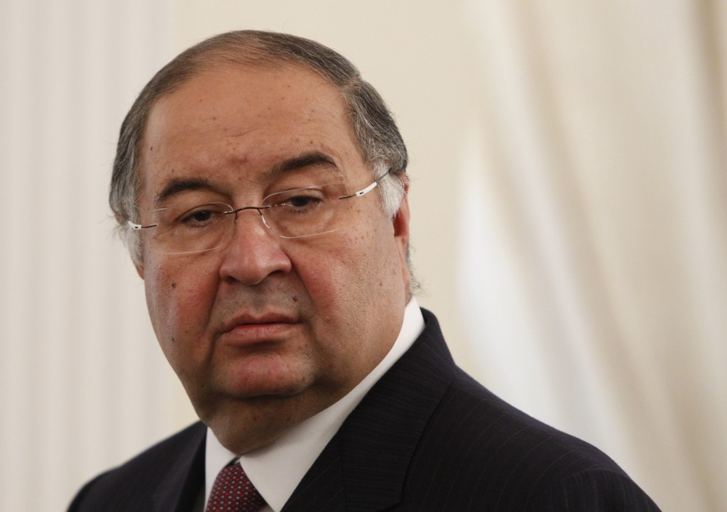 Alisher Usmanov has been re-elected for another term as International Fencing Federation President ©Getty Images
