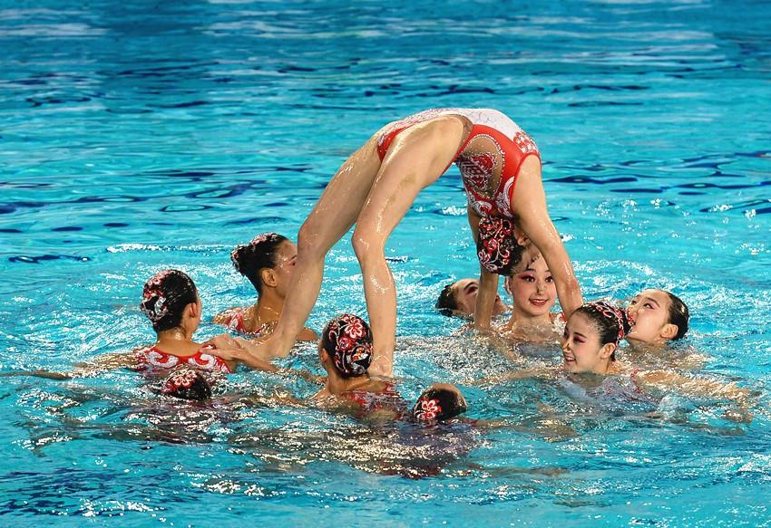 China won all three titles available on day one in Yangzhou ©FINA/Ji Chunpeng