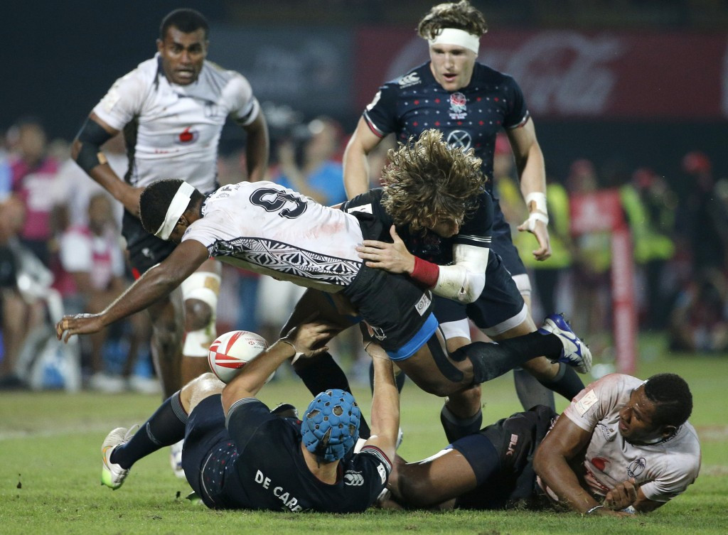 This season's World Rugby Sevens Series will begin in Dubai on December 2 ©Getty Images