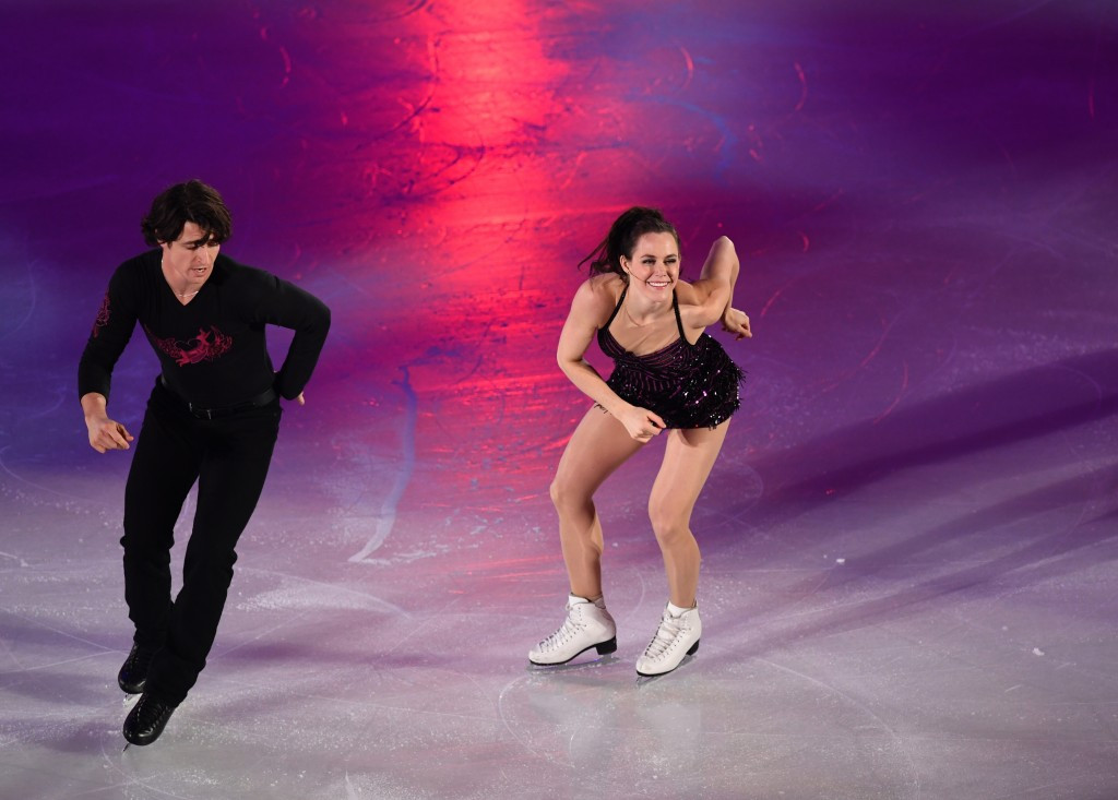 Virtue and Moir claim ice dance title on concluding day of NHK Trophy