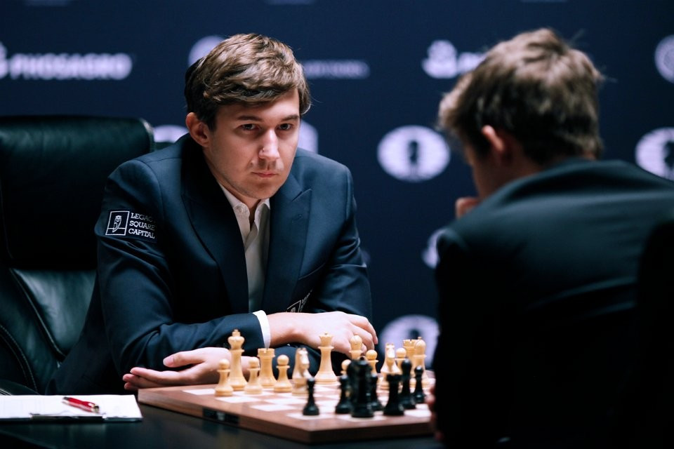 Challenger Sergey Karjakin was not happy with his performance ©FIDE