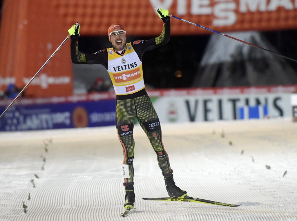 Rydzek secures Nordic Combined World Cup double in Ruka
