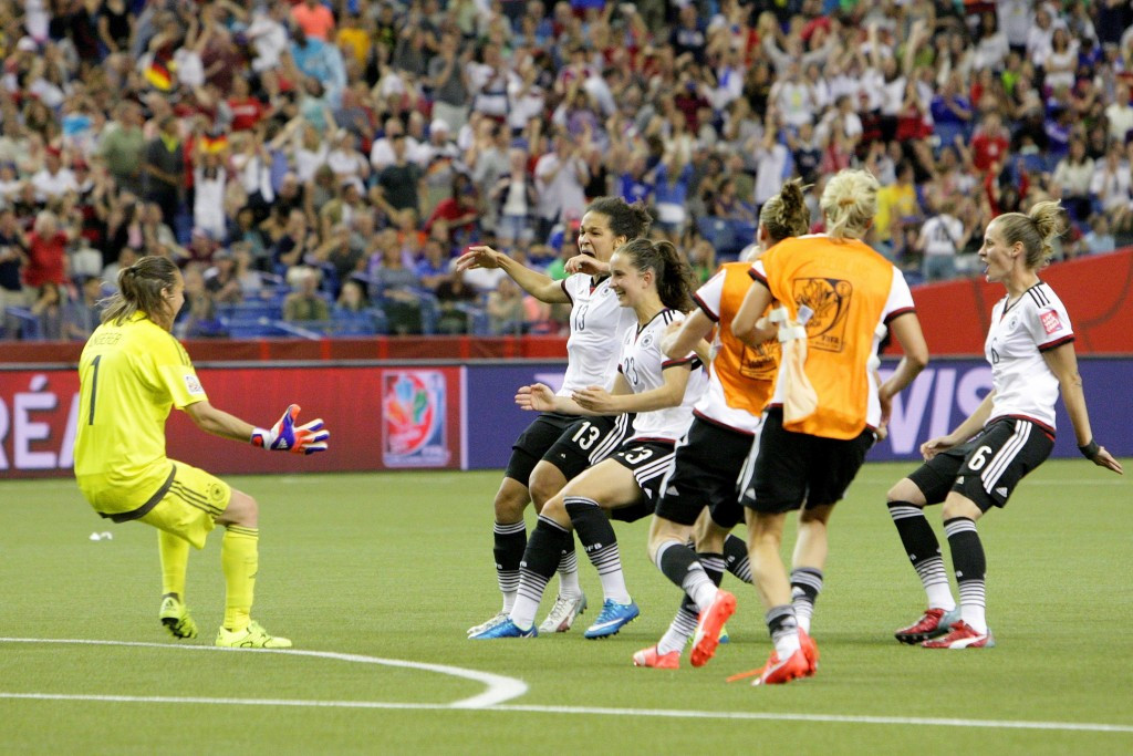Germany and United States to meet in Women's World Cup semi-final after tight quarter-final wins