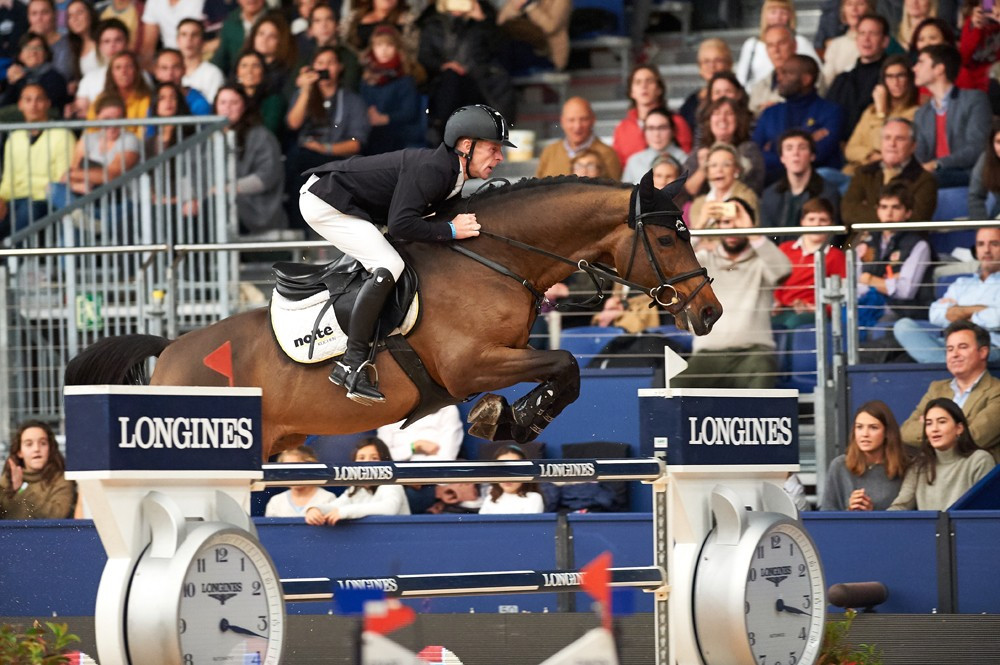 Germany's Ehning claims FEI World Cup Jumping victory in Madrid