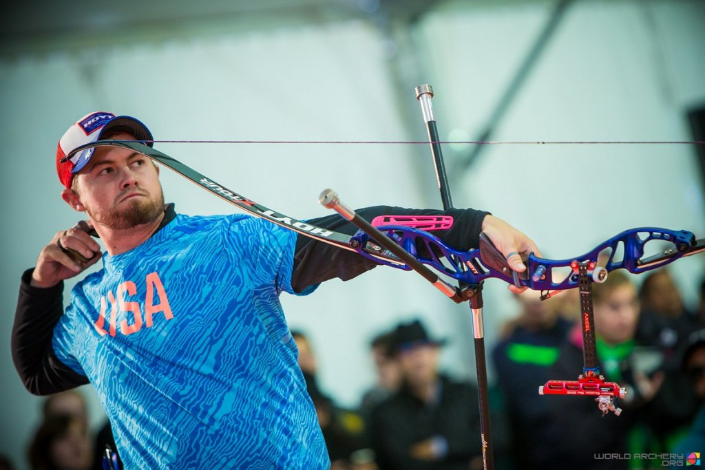 Ellison eases to Indoor Archery World Cup gold in Marrakesh