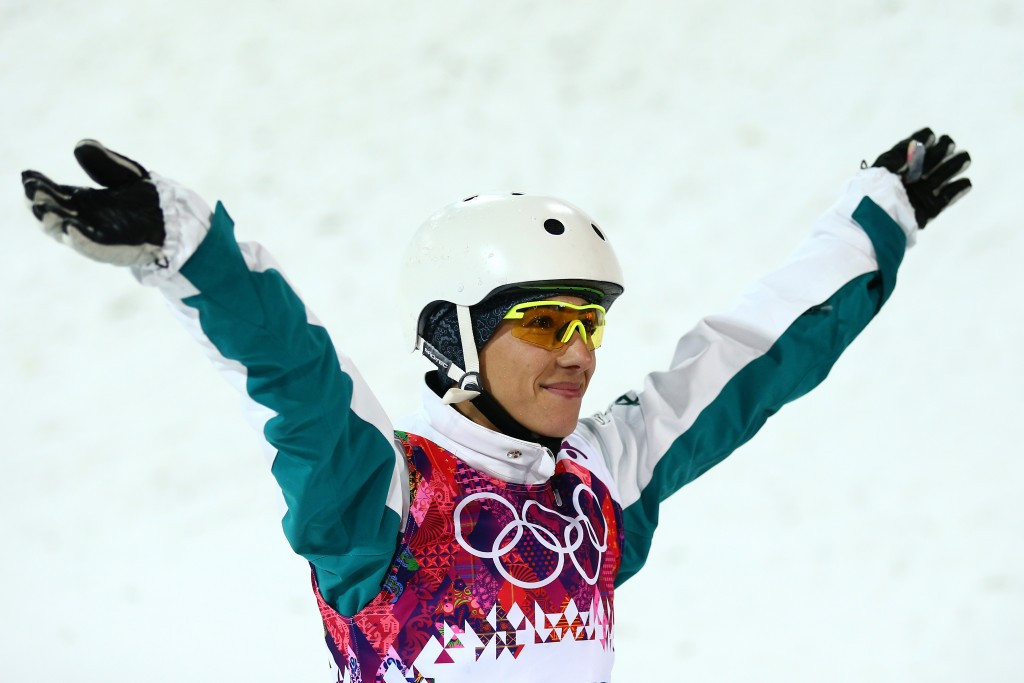 Olympic aerials champion returns to training and eyes Pyeongchang 2018