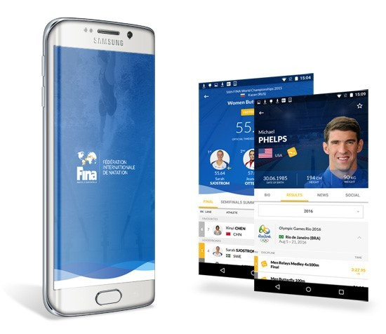 """FINA launches mobile app which will """"bring fans closer to athletes"""""""