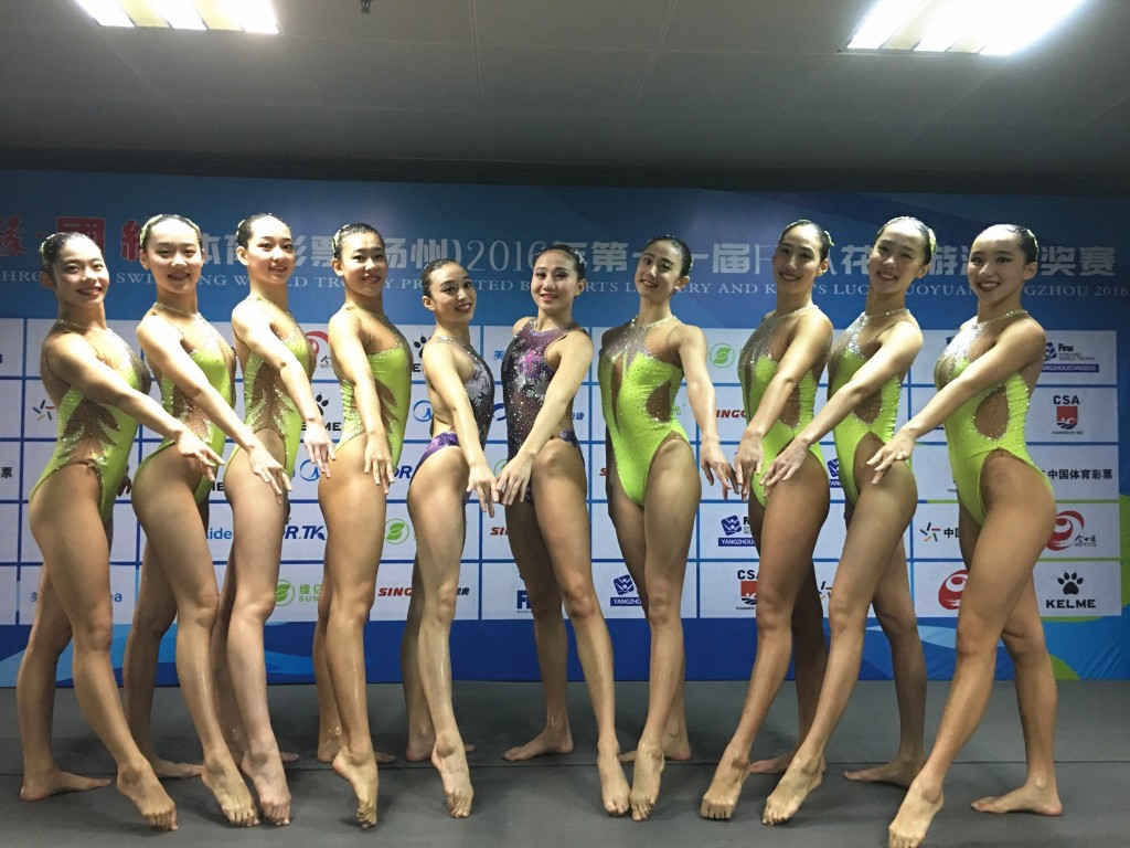China secured their fifth consecutive FINA Synchro World Trophy title ©FINA