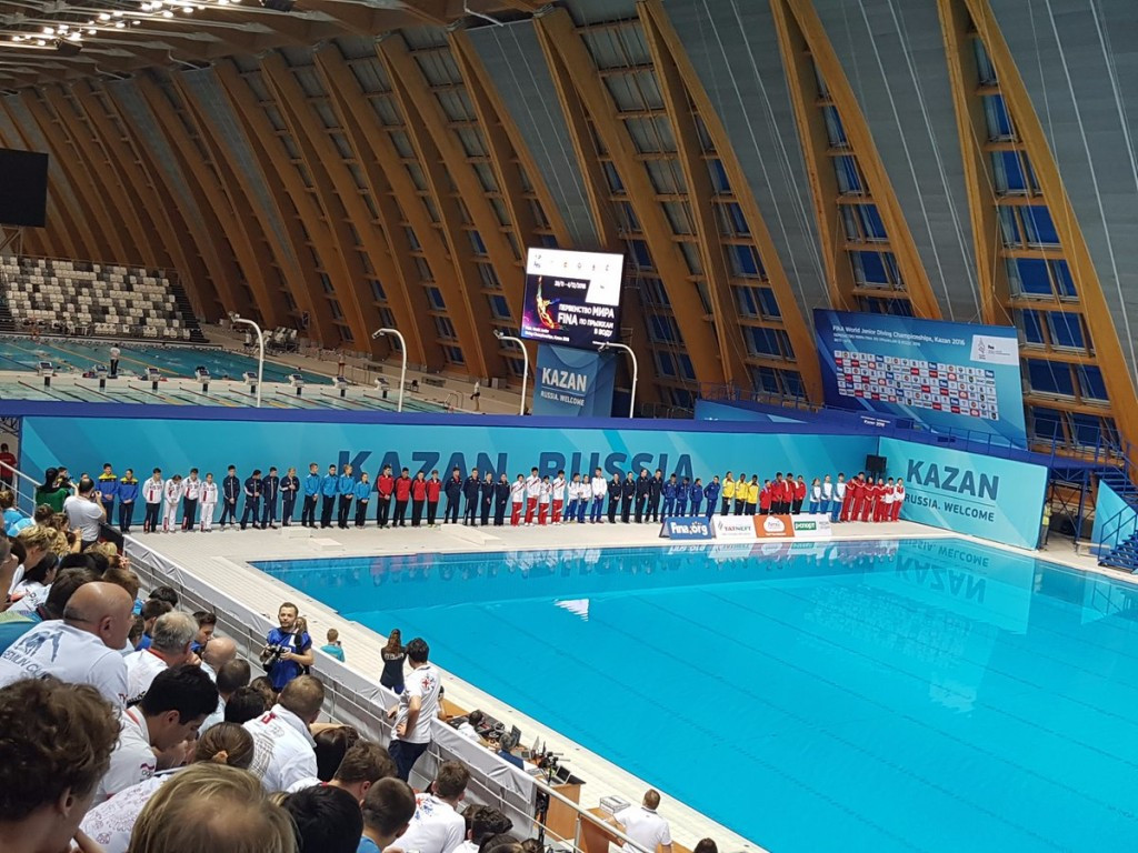 Britain claim first gold of 2016 FINA World Junior Diving Championships