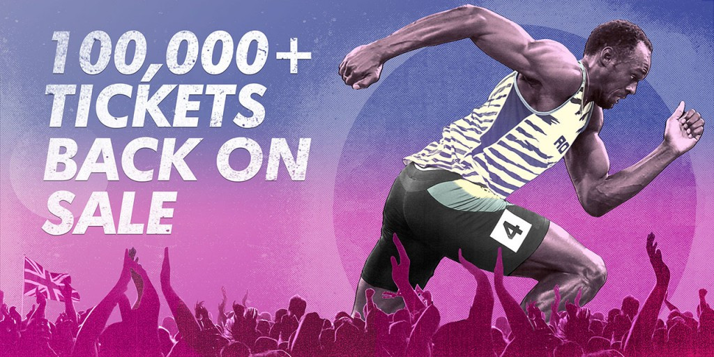 London 2017 put 100,000 tickets for World Athletics Championships back on sale
