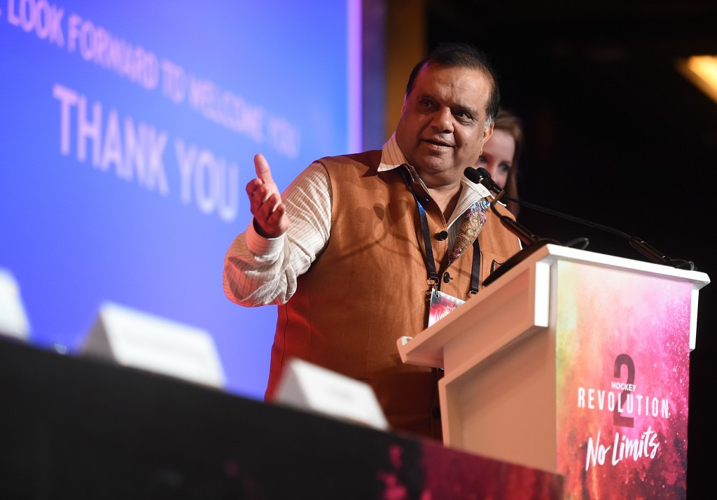 India's Narinder Batra was elected FIH President earlier this month ©Getty Images