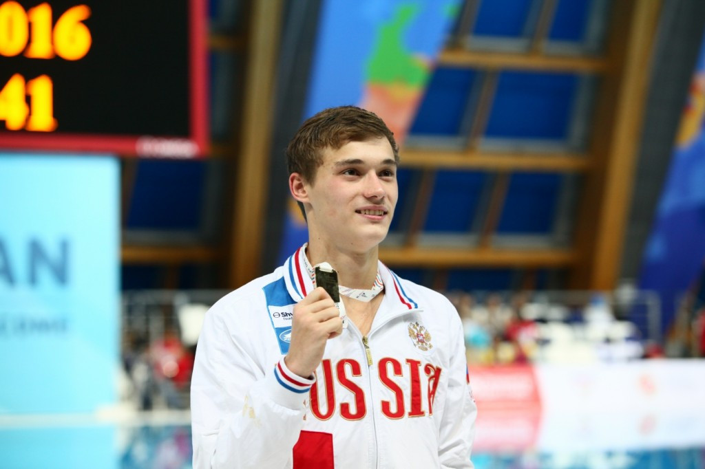 Russia and United States share gold medals on second day of 2016 FINA World Junior Diving Championships