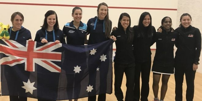 Malaysia, Egypt and England show class on day two at WSF Women's World Team Squash Championships