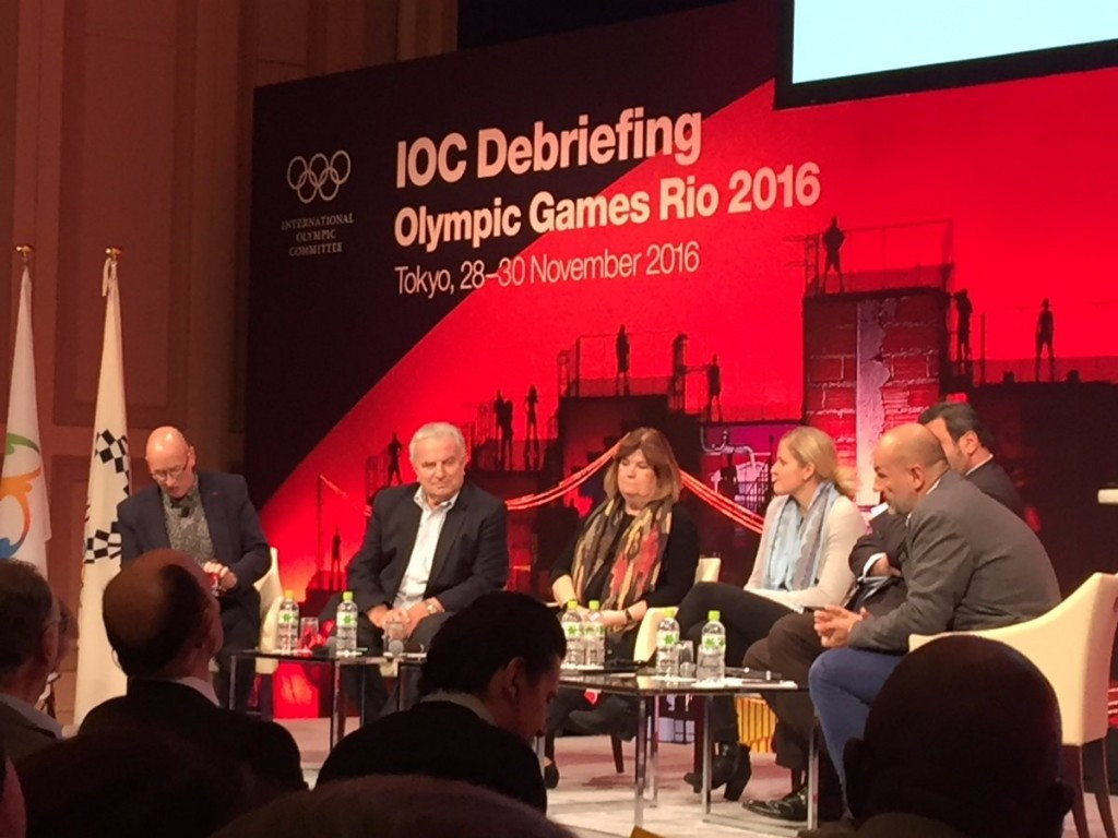 Positive and negative aspects of Rio 2016 were discussed at the briefing today ©ASOIF