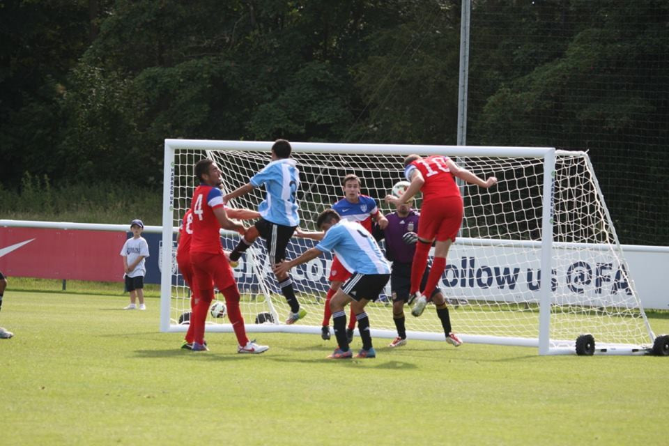 United States proved too strong for Argentina in the battle for seventh position ©CPFWC