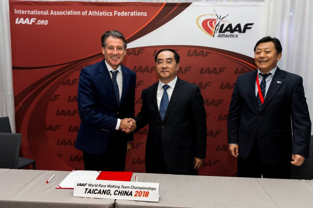 Taicang confirmed as hosts of 2018 IAAF World Race Walking Team Championships in place of Cheboksary