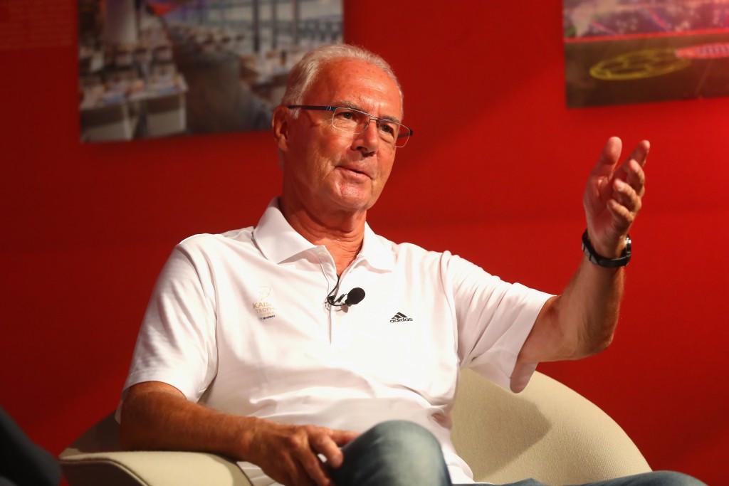 World Cup winner Franz Beckenbauer is also named in the criminal investigation in Switzerland ©Getty Images