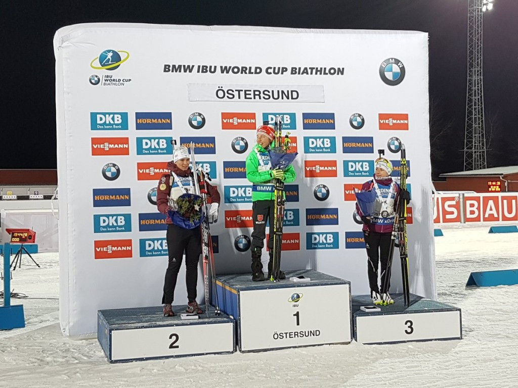 Dahlmeier claims victory in opening individual event of IBU World Cup season