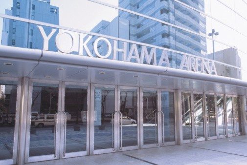 An IOC technical delegation has visited the Yokohama Arena ©Getty Images
