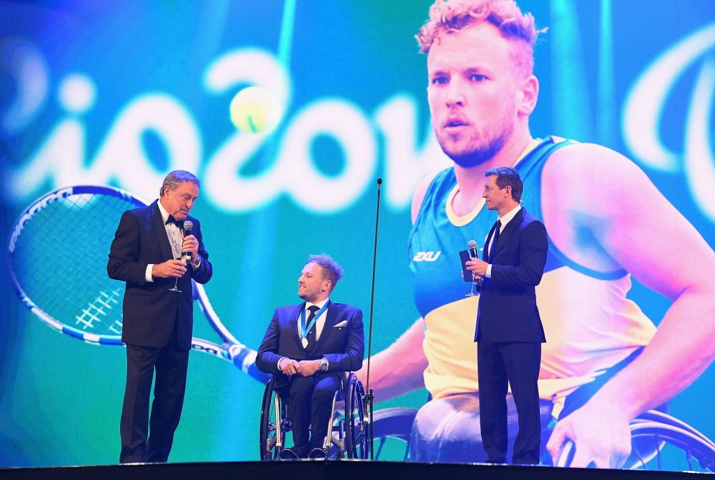 Alcott becomes first wheelchair athlete to earn Newcombe Medal