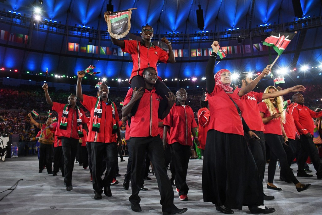 The Kenya team were beset by problems at the Rio 2016 Olympics, including with their accommodation and travel ©Getty Images
