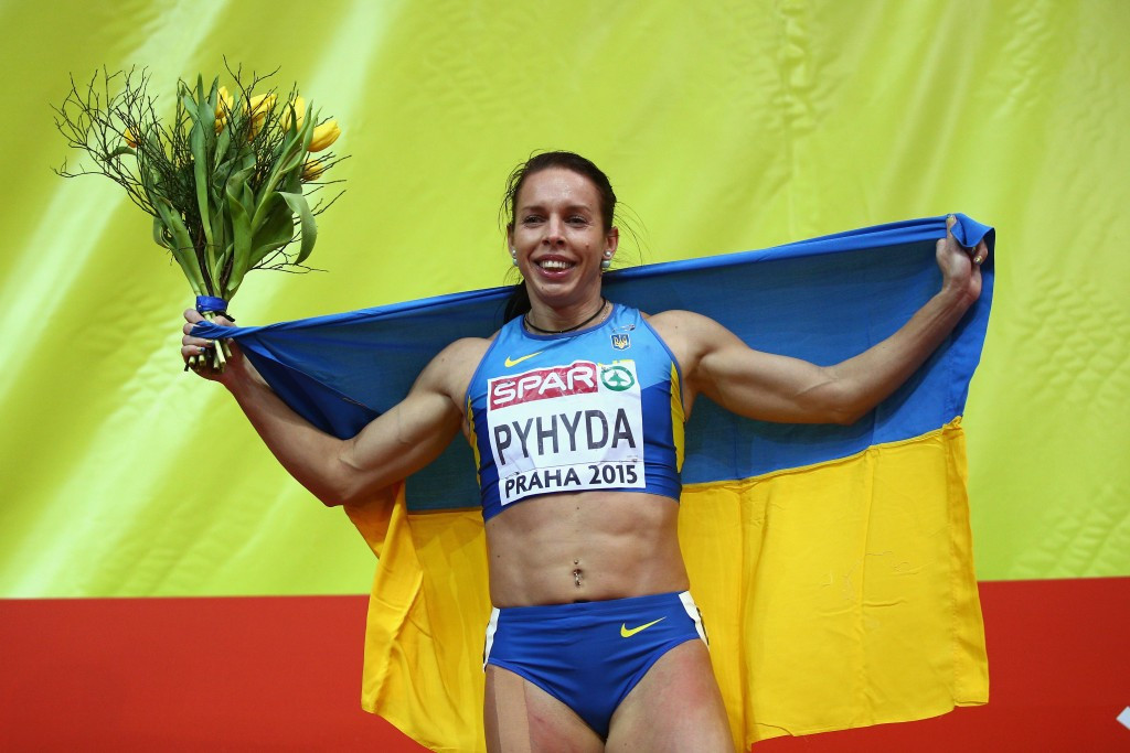 Nataliya Pyhyda has also escaped a second drugs ban ©Getty Images